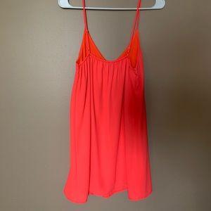 Windsor mini v neck slip dress